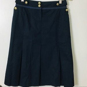 VTG ESCADA Sport Navy Sailor Skirt Size 38/M